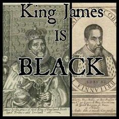 King Iames producer of the 1611 bible Stuart  (Rex Jacobus) king of England and Scotland is black.  The bible describes Israel (prince of God), and entire cast  host of black characters.  Only Black people write about black people.  Later his court and descendants were killed.  Others sent to West Indies who traveled to america  .