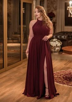 54 Awesome plus size formal dresses that will make you look beautiful … – Plus Size Dress Plus Size Formal Dresses, Bridesmaid Dresses Plus Size, Plus Size Gala Dress, Evening Dresses Plus Size, Gala Dresses, Chiffon Dresses, The Dress, Dress Long, Plus Size Fashion