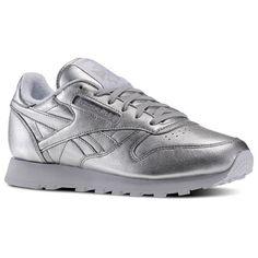 Reebok x FACE Stockholm Classic Leather Spirit - Silver Presence