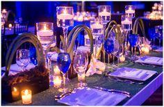 Calla Lilies   Candlelight   Centerpieces   Sports Themed   Florida Sports   Titletown   Bar Mitzvah   via Magnolia Bluebird design & events   Hyatt Regency Bethesda   Photos by Bradley Images