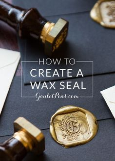 Add flair to your next letter with a wax seal! Check out our helpful step-by-step guide on how to create a wax seal. Pin for later.