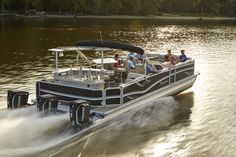 The all new 2016 Premier 310 Dodici pub just won the NMMA Innovation Award for Best New Pontoon.  Available with up to triple 300 hp Evinrudes and joystick docking!  Also available with Yamaha, Suzuki, Mercury, Evinrude and Honda 4-Stroke outboards.  Life is Short, Boats are Cool!