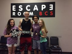 This group escaped the Sheriff's office before he returned!