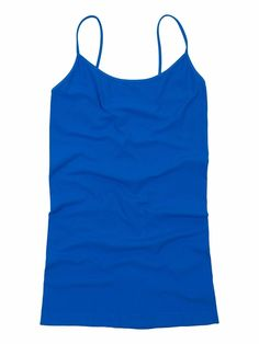 Tees by Tina Cami - Cruise Blue (One Size Fits Most, Cruise Blue). 92% Nylon, 8% Spandex. Stays perfectly in place! Longer length keeps you completely covered. One size fits most (really!). Ultra-comfortable fit wear after wear, made in the USA. *WE OFFER FREE STANDARD USPS SHIPPING ON ALL CONTINENTAL ORDERS!.