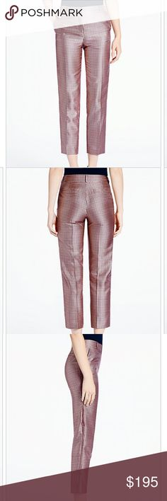 Kate Spade Lewitt Margaux printed slim pants-NWT! Kate Spade Lewitt Margaux printed slim pants-NWT! These pants are relaxed through the hips and thighs and tapered at the ankle for a perfect fit! kate spade Pants