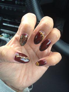 Bit of glitter nails love these