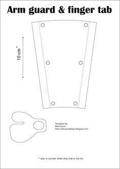 Resultado de imagem para archery bow glove pattern print