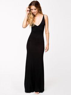 Spaghetti Strap Backless Bodycon Dress