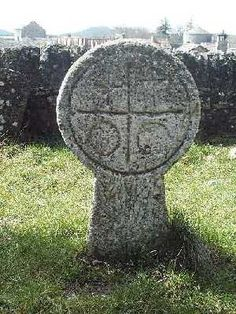 Knight Templar Gravestone, La Couvertoirade, France