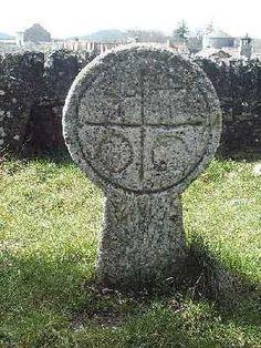 Knight Templar Gravestone, La Couvertoirade, France