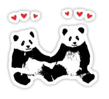 Panda: Stickers | Redbubble