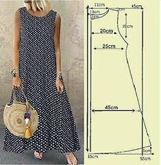 Sewing Clothes, Diy Clothes, Clothes For Women, Costura Fashion, Dress Sewing Tutorials, Dress Making Patterns, Everyday Dresses, Fashion Sewing, Pattern Fashion