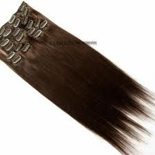 #BrazilianVirginHair sensational clip-on #extensions. Produced with tangle-free protein rich 100% #RemyBrazilianHumanHair, unprocessed complete hair strands including the cuticle... truly the finest human hair on the market.