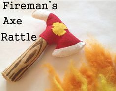 Fireman's Axe Rattle Tutorial