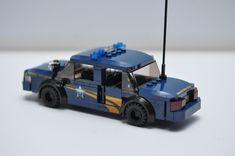 LEGO City Police Car Cop Oregon Navy Blue SWAT Speed Champions Custom  #Lego Lego Police Car, Lego Army, Car Cop, Lego Bathroom, Walmart Toys, Lego Truck, Lego Speed Champions, Lego Models, Lego Projects