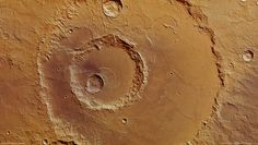 Hadley Crater offers a view almost 2600 metres into the Martian crust, enabled by three large craters lying inside one another.