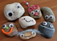 Time to make your very own Pet Rock! by Art, Paper, Scissors