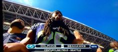 Bob Roble @SportsTechieNET  9m9 minutes ago .@RSherman_25, @PeteCarroll and @Seahawks lock arms to honor the national anthem and 9/11 @CenturyLink_Fld. #WeAre12 http://moby.to/1ji29f