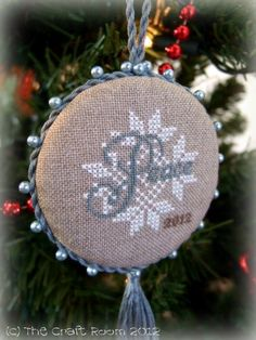 The Craft Room - Design is from 2012 Just Cross Stitch Magazine