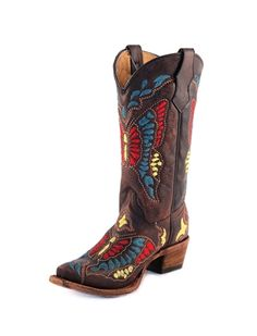 PRECIOUS Corral boots for little girls.... I've got to get these for my god daughter!!