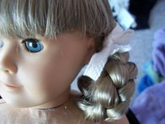 recreate Kirsten's braids! American Girl doll. any girl who owns Kirsten needs this for sure!