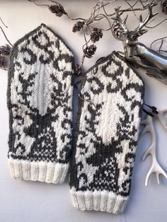 Knit Mittens, Christmas Ideas, Knitwear, Knit Crochet, Diy And Crafts, Crochet Patterns, Gloves, Crafting, Knitting