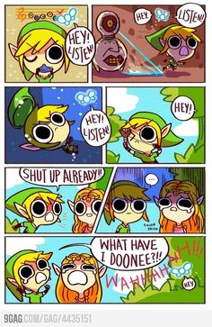 Legend of Zelda. FUCKING NAVI, WHAT ARE YOU DOING?