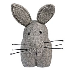 Fiona Walker England Grey Hare Book Stopper for Kids from The Well Appointed House
