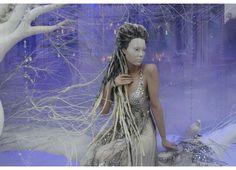 Harrods. Ice Queen window.