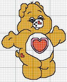 Gráfico Ponto Cruz   Ursinhos Carinhosos