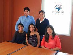 El equipo creador de la idea de negocio PRODIG IMS con sus integrantes, estudiantes de ESEN.