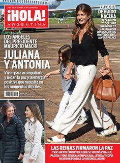 En la nota de tapa de esta semana, revista ¡Hola! ofrece los pormenores del viaje a Misiones de Macri junto con su familia.