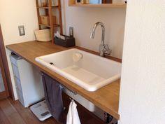 TOTOの実験用シンク Bathroom Toilets, Washroom, Clinic Design, Bath Caddy, Interior And Exterior, Ideal Home, Sink, Laundry, Bathtub
