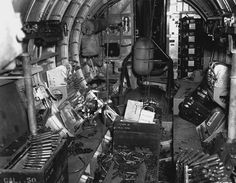 https://flic.kr/p/pr1Nr9 | Inside a B-17 after a mission | The interior of the 43rd Bomb Group B-17 named THE OLD MAN after a mission in March 1943. This is our photo of the week.