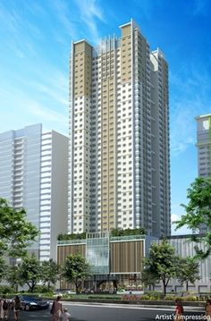 San Antonio Residence in Makati is the most affordable condo of Megaworld Corporation in Makati City. Makati City, Quezon City, Central Business District, Tomorrow Will Be Better, Condos For Sale, San Antonio, Skyscraper, The Neighbourhood, Multi Story Building