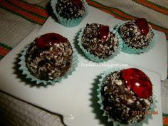Τρουφάκια σοκολάτας ...μεθυσμένα   Tante Kiki Muffin, Breakfast, Blog, Muffins, Cupcake, Cup Cakes