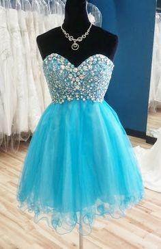 cutie blue #homecoming dress