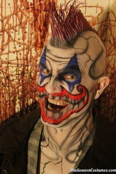 scary joker face makeup for Halloween - Halloween Costumes 2013