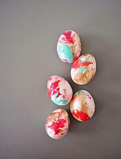 μοντέρνες ιδέες για Πασχαλινά αυγά12