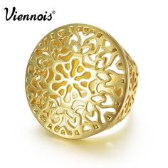 2015 Viennois Fashion GP Gold Plated Hollow Out Circle Round Ring Size 7 8 For Women New. Fine or Fashion: FashionItem Type: RingsRings Type: Bridal SetsStyle: TrendyBrand Name: ViennoisGender: WomenSetting Type: Tension MountMaterial: MetalOccasion: PartyMetals Type: Zinc AlloyShape\pattern: RoundModel Number: K700267RCondition: Brand NewOccasion : party/ CausalColor: GoldMetal : Alloyis_customized: Yes  United States & Canada UK, Europe &...