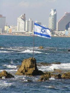 Coastline in Israel