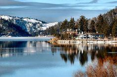 Big Bear CA.  I love this place in both Summer (lake) & Winter (slopes) <3