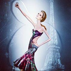 Selfie. @it-illustrator #desenho #photoshop # moda # selfie # estampa # modelo # estilizado # croqui #digital #paris #parisfashionweek