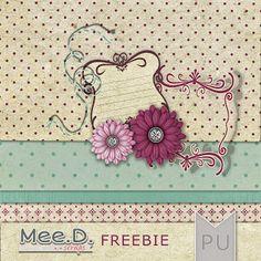 Monday's Guest Freebies ~ Mee Digi Scraps ✿ Follow the Free Digital Scrapbook board for daily freebies: https://www.pinterest.com/sherylcsjohnson/free-digital-scrapbook/ ✿ Visit GrannyEnchanted.Com for thousands of digital scrapbook freebies. ✿