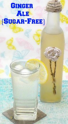 Sugar-Free Ginger Ale concentrated syrup - quick, easy and delicious