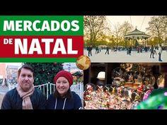 Como são os mercados e feiras de Natal na Europa?