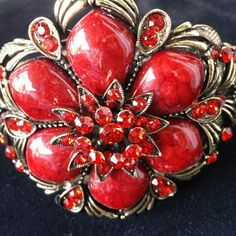 Selling this Elegant Deep Red Bracelet in my Poshmark closet! My username is: dlauren1977. #shopmycloset #poshmark #fashion #shopping #style #forsale #Jewelry