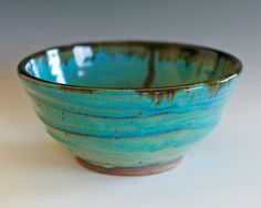 Handmade Ceramic Bowl by ocpottery on Etsy, $35.00