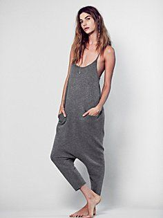 FP Cashmere One Piece; odd and I'd never get in cashmere, but I love this for some odd reason Hippy Chic, One Piece, Office Fashion, Jumpsuits For Women, Passion For Fashion, Lounge Wear, What To Wear, Style Me, Active Wear