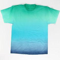 Moody Blues Ombré Technique T-shirt